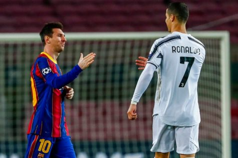 Lionel Messi (left) and Cristiano Ronaldo (right) have dominated for the past 15 years, but we may be seeing the beginning of the end for these two soccer legends. (Courtesy of Twitter)