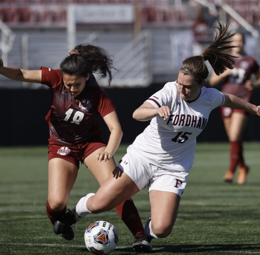 This past week, the Rams faced two tough opponents after about a month without competition. (Courtesy of Fordham Athletics)