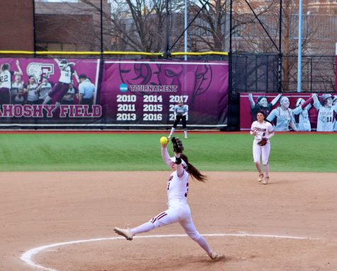 The Rams have been at their best this season when pitching paces the way. (Mackenzie Cranna/The Fordham Ram)