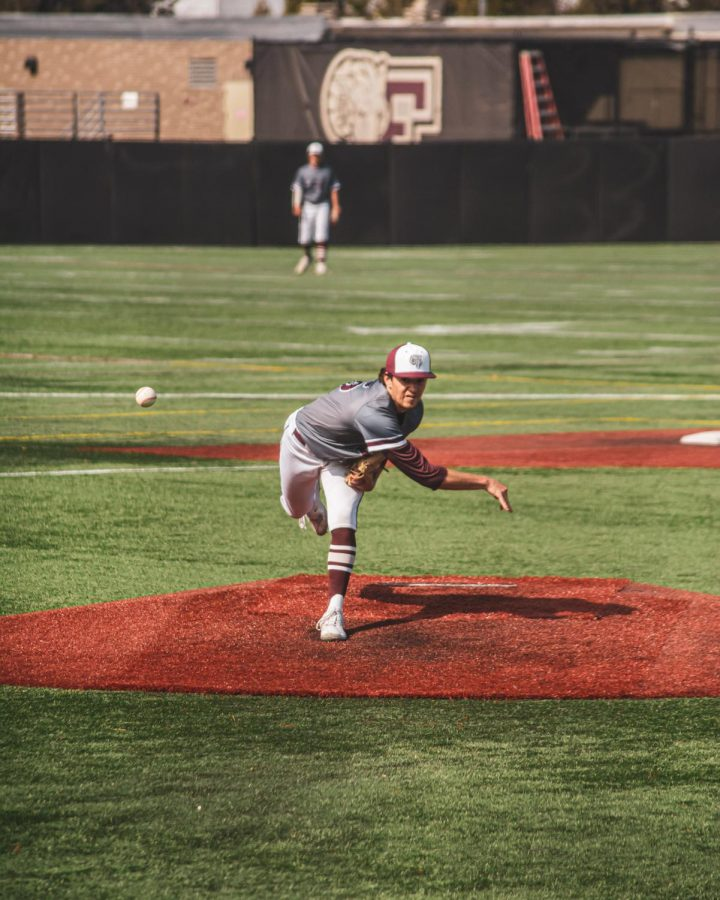 Fordham Baseball was able to push through with three wins against St. Bonaventure behind unstoppable performances from their top two aces. (Matthew Quijano/The Fordham Ram)