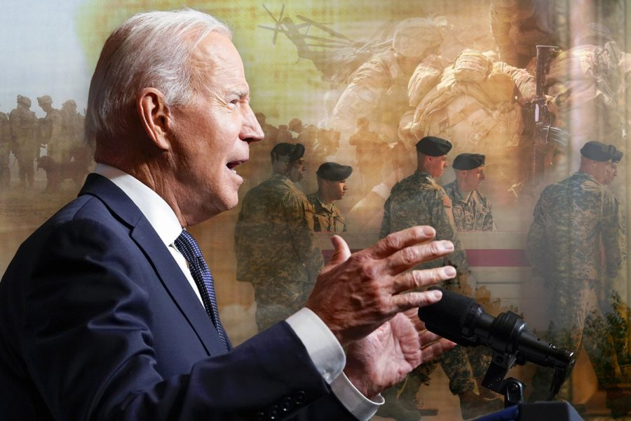 Nearly 20 years after the 9/11 attacks, the Biden administration announced that U.S. troops will be coming home from Afghanistan, ending the nation's longest war. (Courtesy of Twitter)
