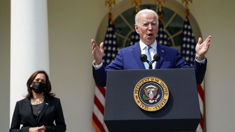After the shooting in Boulder, Colo., President Biden called for a ban on assault weapons. (Courtesy of Twitter)