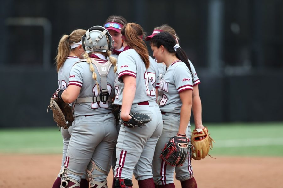 Softball's win streak came to an end in dramatic fashion against Army. (Courtesy of Fordham Athletics)