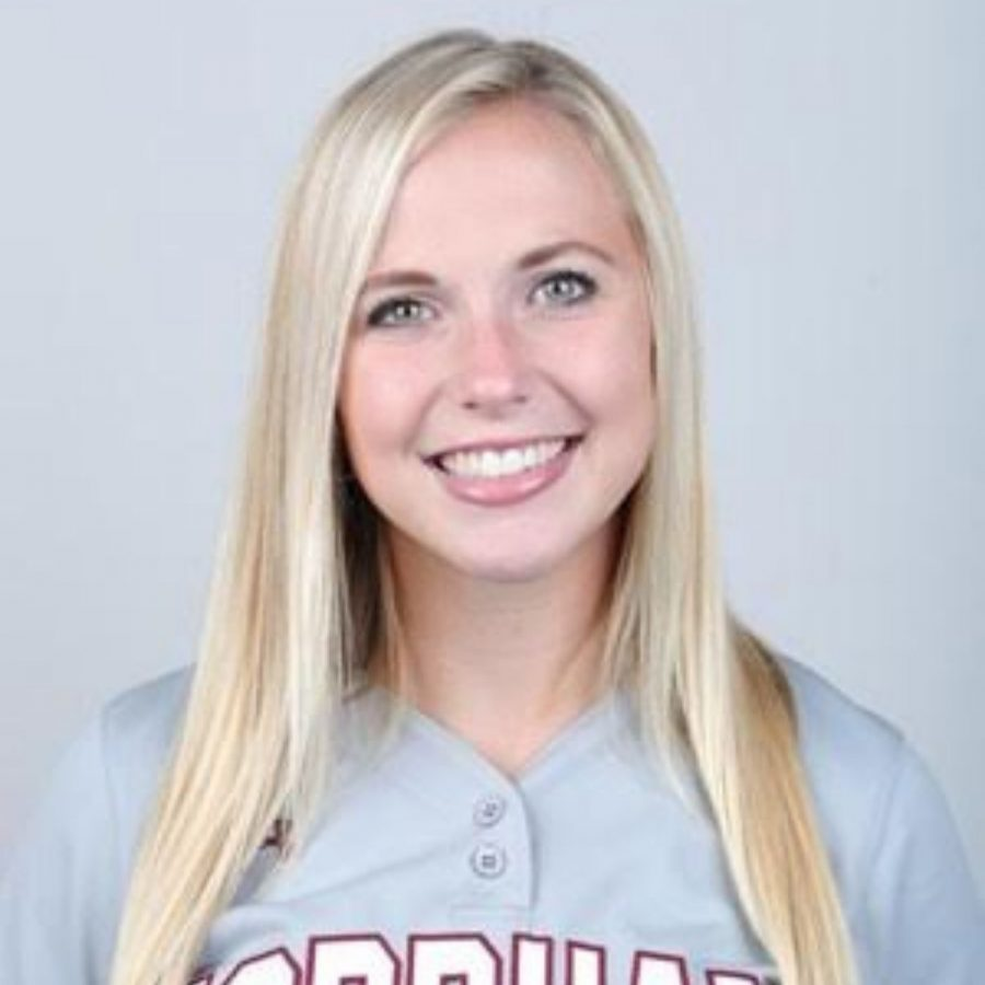 As+her+college+career+comes+to+a+close%2C+Kelly+Bright+%28above%29+hopes+to+inspire+athletes+to+achieve+beyond+the+boundaries+of+the+playing+field.+%28Courtesy+of+Fordham+Athletics%29