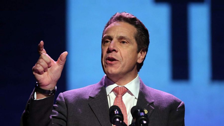 Recently, New York State Governor Andrew Cuomo announced that he will be posing an increased tax on residents earning over $1 million dollars in annual revenue. (Courtesy of Twitter)