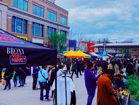 The Bronx Night Market food festival will run every Saturday until November. (Courtesy of Taylor Mascetta/The Fordham Ram)