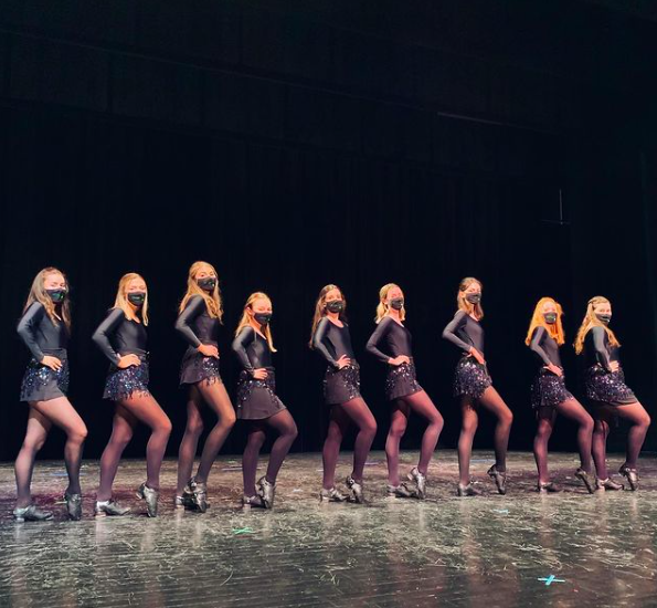 "Fordham's Irish Dance team Sláinte, premiered a virtual ""Irish Night"" April 14. (Courtesy of Instagram)"
