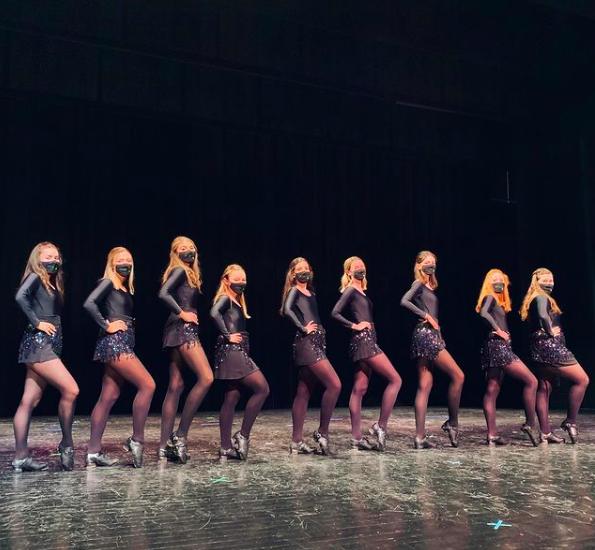 "Fordham's Irish Dance team Sláinte, premiered a virtual ""Irish Night"" April 14. (Courtesy of Instagram)"
