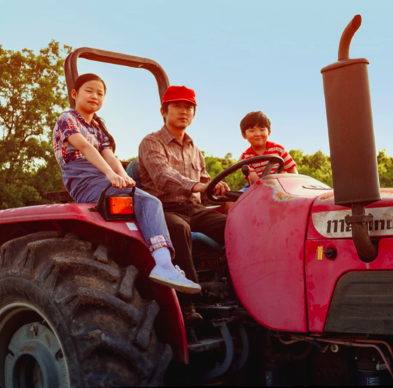 "The 2021 film ""Minari"" follows the Yi family as they settle on a farm in Arkansas in the 1980s. (Courtesy of Twitter)"