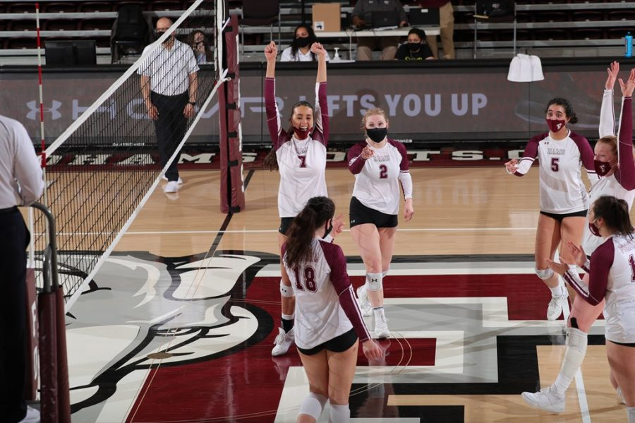 Volleyball will look to carry forward the momentum of their long-awaited return to the A-10 Championship. (Courtesy of Fordham Athletics)