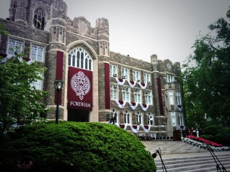 Fordham will provide both a virtual graduation ceremony and scaled-down in-person events for graduating seniors. (Courtesy of the Ram Archives)