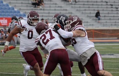 The Rams will take a great deal away from an abbreviated spring season that ended with two imposing wins, despite falling one step short of competing in the Patriot League Championship. (Courtesy of Fordham Football)