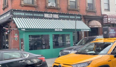 The Harlem Shake restaurant  crawls towards pre-pandemic normalcy as restrictions on indoor dining relax in New York.  (Noah Osborne/The Fordham Ram)