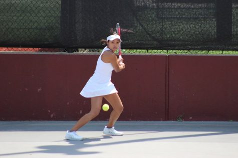 Maia Balce (above) was one of two seniors celebrated with a short ceremony before the final regular season match against Army. (Courtesy of Fordham Athletics)