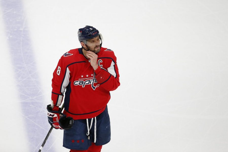 The Capitals' recent struggles both financially and on the ice have raised questions about whether Ovechkin's otherwise terrific career with them will continue. (Courtesy of Twitter)