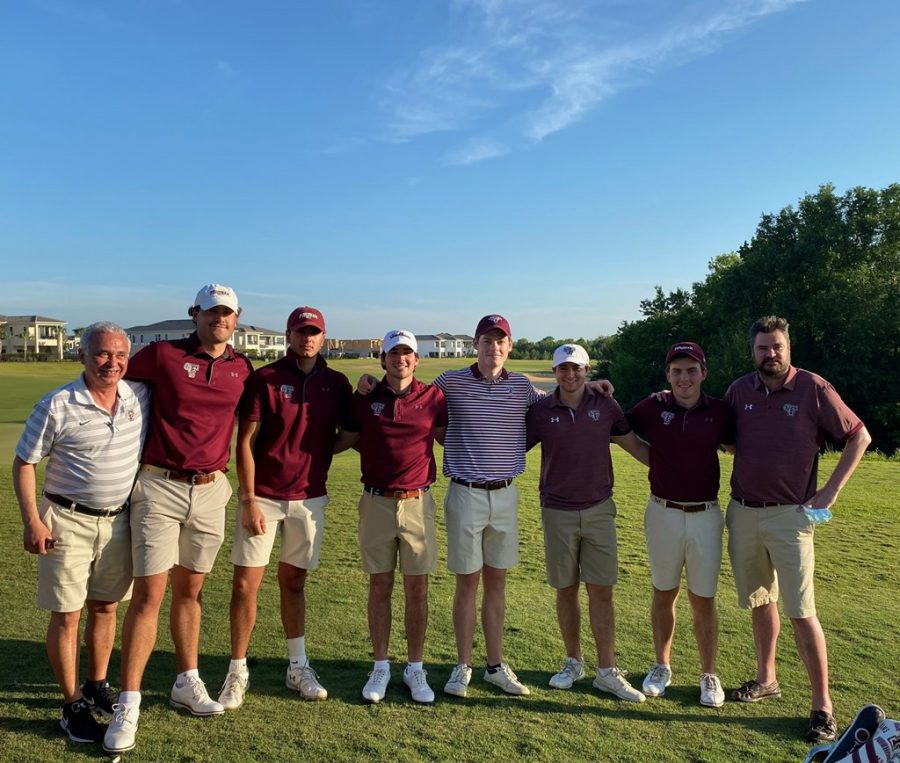 Golf finished off a successful season at the A-10s with hopes of continuing to grow next year. (Courtesy of Fordham Athletics)