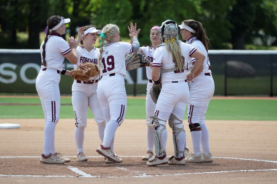 Softball+found+its+revenge+against+St.+Joe%27s+but+could+not+overcome+a+set+of+stiff+competition+on+tournament+day+two.+%28Courtesy+of+Fordham+Athletics%29