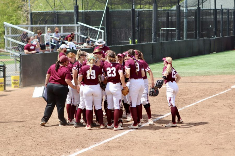 Softball earned another series win to head into a pivotal one to end the season against St. Joe's. (Mackenzie Cranna/The Fordham Ram)