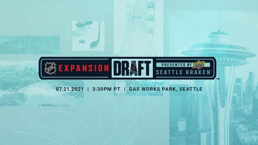 The+Seattle+Kraken+will+host+the+latest+NHL+expansion+draft+as+they+look+to+field+their+roster+for+the+upcoming+season.+%28Courtesy+of+Twitter%29