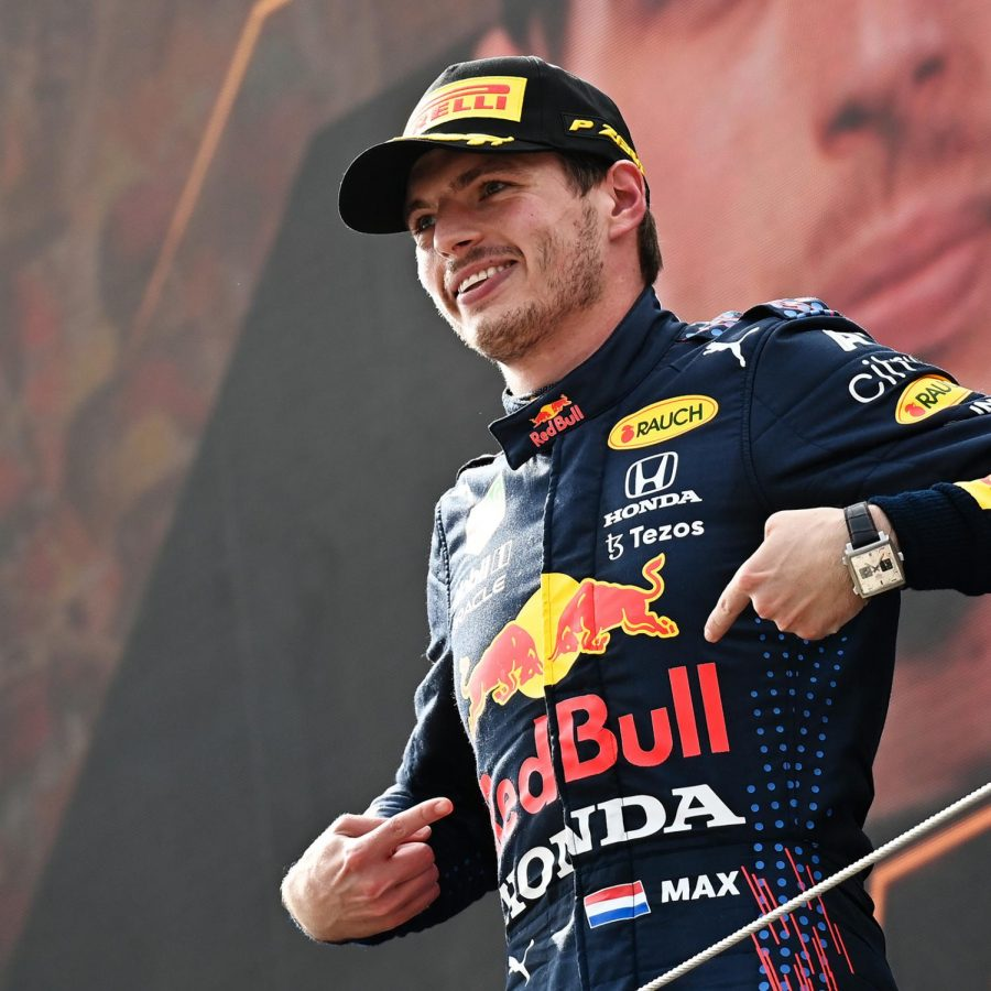 Max Verstappen picked up a hat trick of victories as he dominated the Austrian Grand Prix, increasing his championship lead against Lewis Hamilton (courtesy of Twitter)