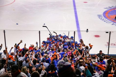 The Lightning proved to be the team keeping the Islanders and their fans from a Stanley Cup again in their final run at the Coliseum. (Courtesy of Twitter)