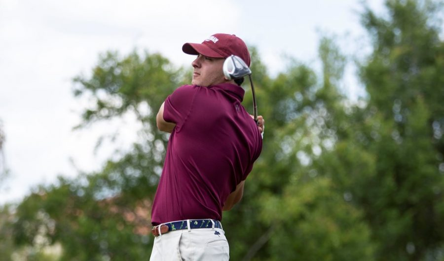 Andreas Aivazoglou (above) is one returning golfer the Rams will have to lean on this season. (Courtesy of Fordham Athletics)