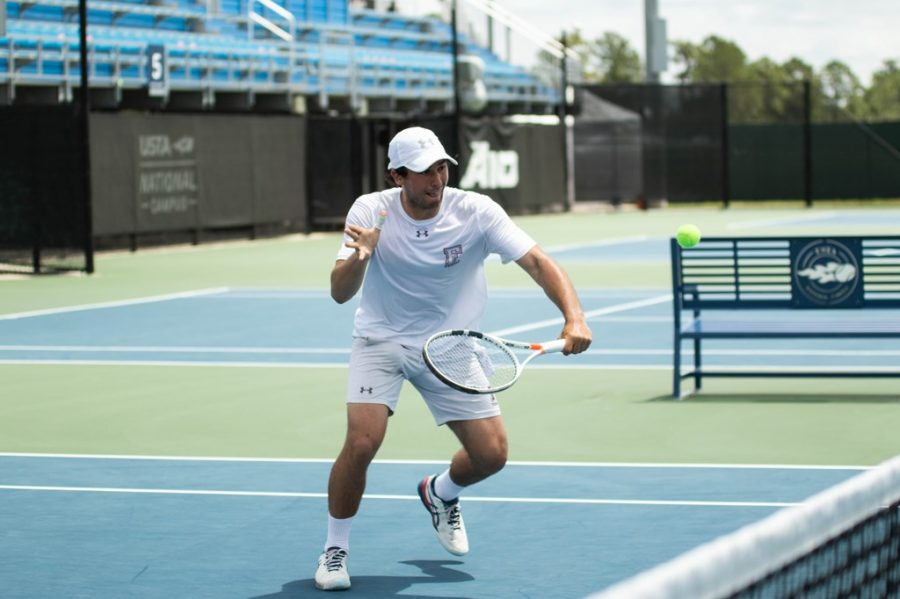 Mens Tennis hopes for some normalcy after two consecutive seasons impacted by the COVID-19 pandemic. (Courtesy of Fordham Athletics)
