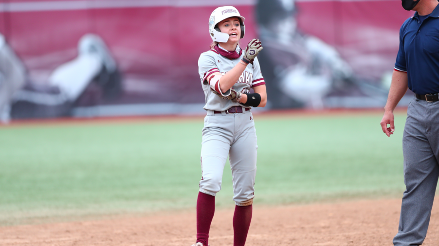 Pinto was named Fordhams nominee for the 2021 NCAA Woman of the Year award. (Courtesy of Fordham Athletics)