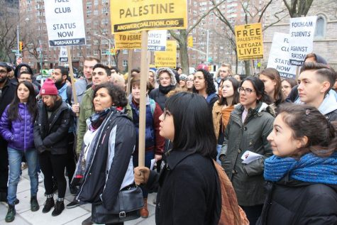 The letter campaign calls upon students and the supporters of Fordham SJP to digitally organize and make demands.