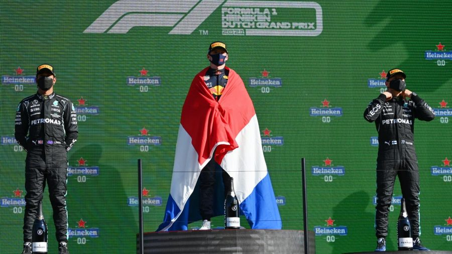 Max+Verstappen+won+his+home+race+at+the+Dutch+Grand+Prix%2C+which+saw+him+win+2+races+in+a+row+as+well+as+giving+him+the+lead+of+the+drivers+championship+%28courtesy+of+Twitter%29.