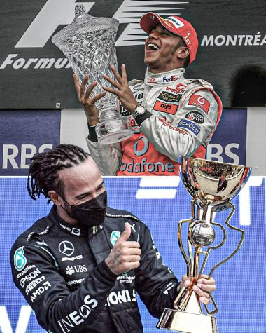 Lewis Hamilton picked up his 100th win in an illustrious career. (Courtesy of Twitter)