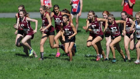 The womens teams first place finish highlighted Fordhams hometown meet. (Courtesy of Fordham Athletics)