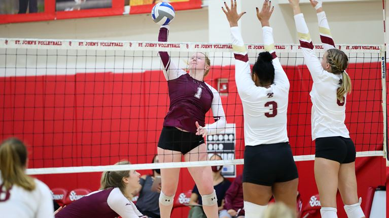 Moody (above) has started her sophomore season strong with the hope team results will soon come with it. (Courtesy of Fordham Athletics)