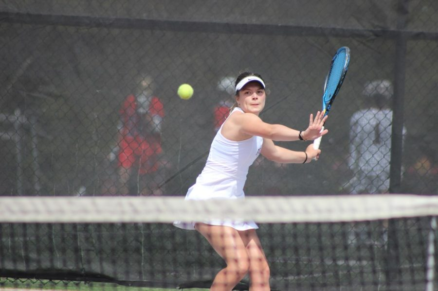 Genevieve Quenville (above), will be one of the players expected to lead the Rams after the departure of captain Arina Taluyenko. (Courtesy of Fordham Athletics)