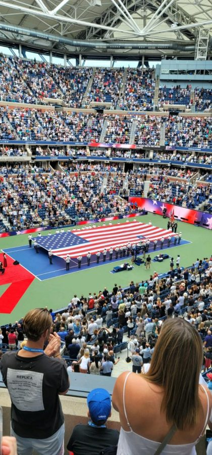 The most recent US Open was one for the books, especially because of the crowd in the final matches. (Courtesy of Michael Hernandez)