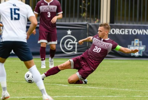 Jacob Bohm, one of last years captains, and the Rams will look to repeat their previous success and defend the A-10 title. (Courtesy of Fordham Athletics)