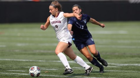 Kennedy (above) continues to be the Rams most effective goal scorer in her role coming off the bench. (Courtesy of Fordham Athletics)