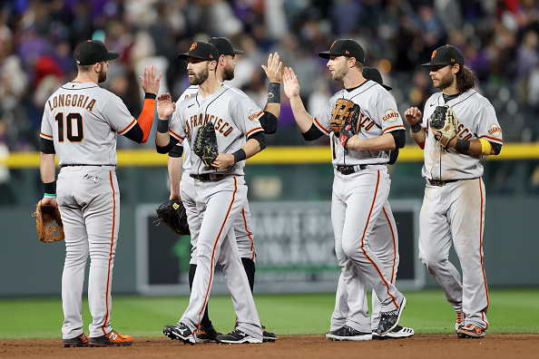The Giants currently have the upper hand in an ongoing NL West battle that feels just like it did 70 years ago. (Courtesy of Twitter)