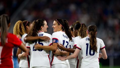 Morgan is leading the charge for the United States women to receive fair pay. (Courtesy of Twitter)