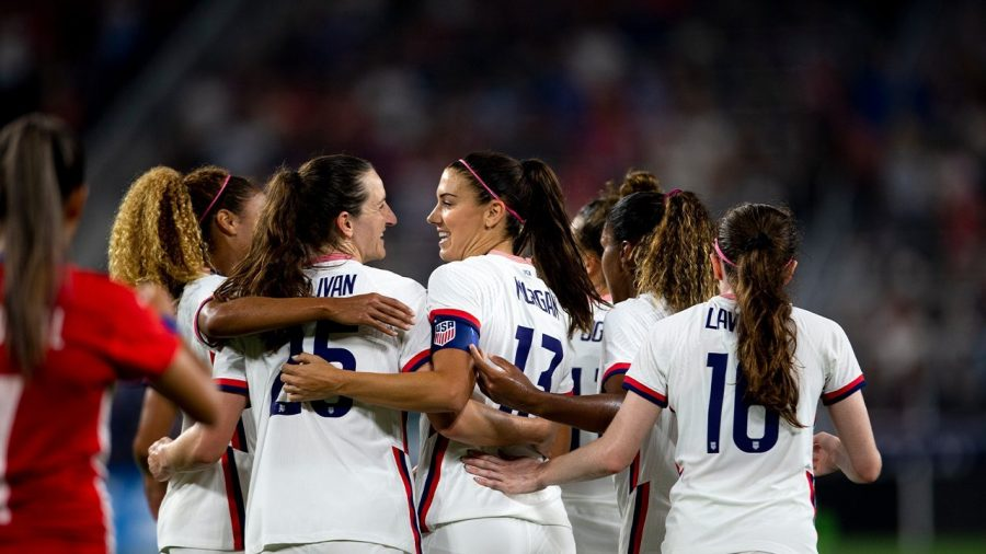Morgan is leading the United States womens charge to receive fair pay. (Courtesy of Twitter)
