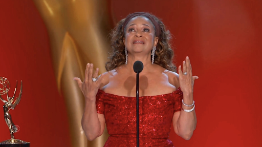 Debbie Allen was presented with the Governors Award at the 73rd Emmy Awards on Sept. 19. (Courtesy of Twitter)