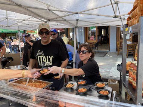 The annual Ferragosto Festival keeps the Italian tradition going on Arthur Ave. (Courtesy of James Smythe).