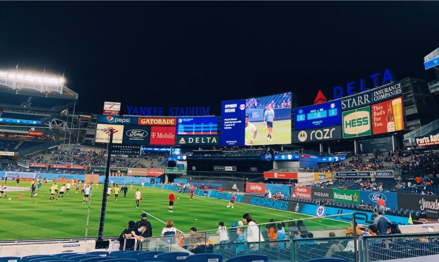 With two games in a single week, this years New York Derby was even more action-packed than most. (Mackenzie Cranna/The Fordham Ram)