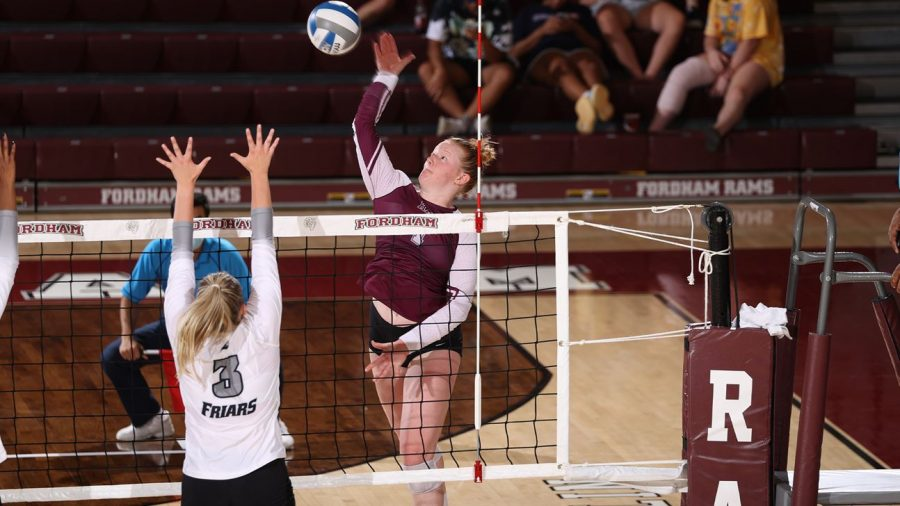 Despite the outcomes, Moody (above) and the Rams plan to focus on the positives of their first two conference matches. (Courtesy of Fordham Athletics)