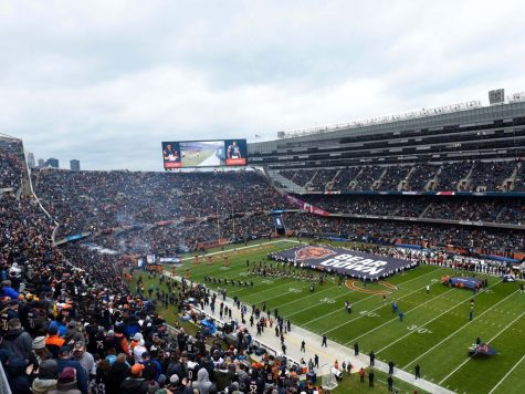 The Chicago Bears might leave Soldier Field after purchasing the Arlington International Racecourse property. (Courtesy of Twitter)