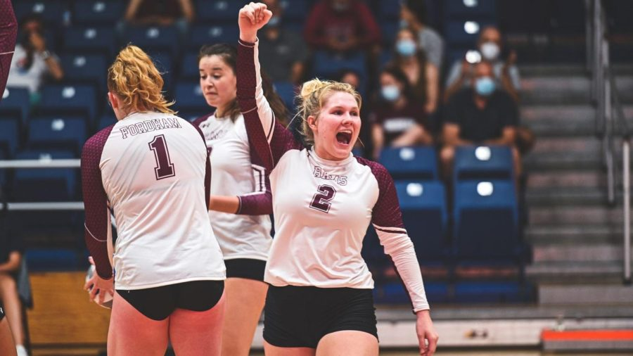 Brzozowski believes in her teams confidence to succeed down the stretch, beginning against a talented Dayton opponent. (Courtesy of Fordham Athletics)