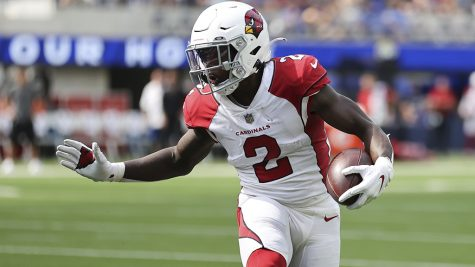 The Cardinals running back movement has opened up an opportunity for Edmonds to become the teams starting back this season. (Courtesy of Twitter)