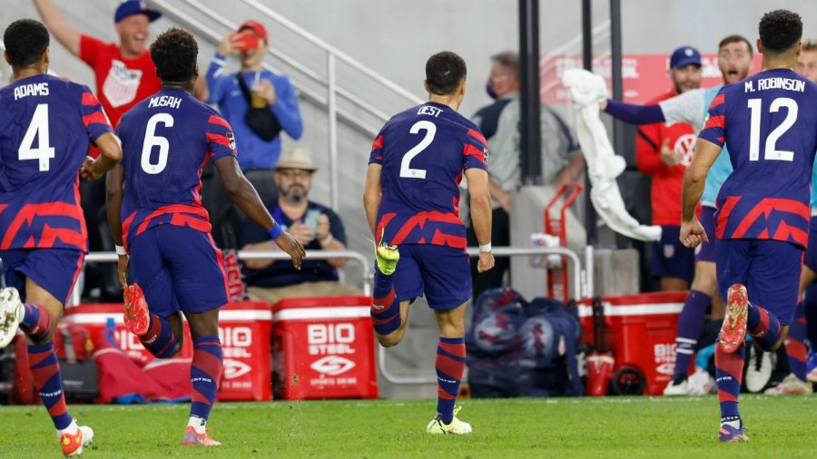 Dest drilled the incredible goal to put the USMNT on the board against Panama. (Courtesy of Twitter)