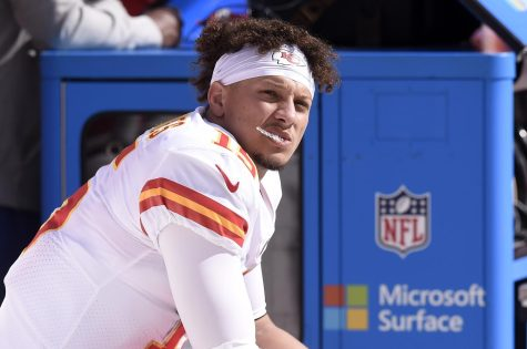 Mahomes and the Chiefs have underperformed this season, giving little reason to believe things will suddenly improve. (Courtesy of Twitter).