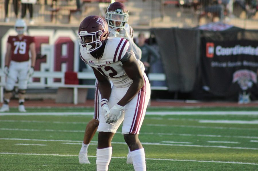 Fordhams defense held on just long enough for the offense to put away the Leopards to start conference competition. (Courtesy of Fordham Athletics)